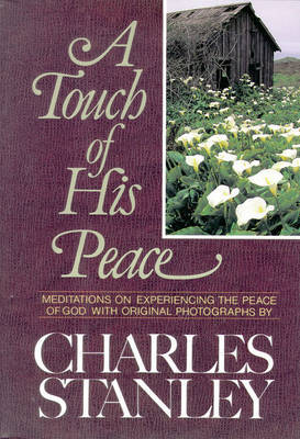 A Touch of His Peace by Charles Stanley image