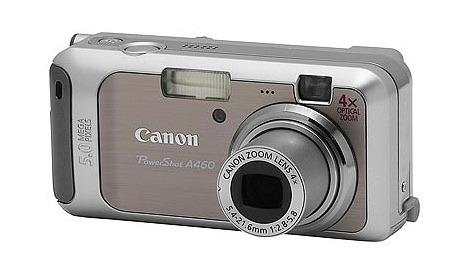 Canon A460 5.0Mp 4x Optical Digital Camera
