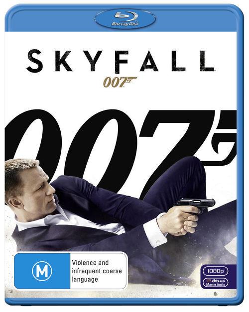 Skyfall on Blu-ray