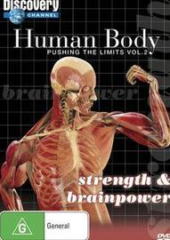 Human Body - Pushing The Limits: Vol. 2 - Strength & Brainpower on DVD