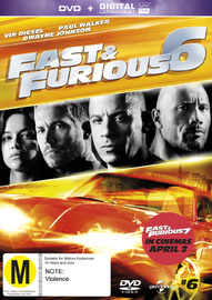 Fast And Furious 6 on DVD