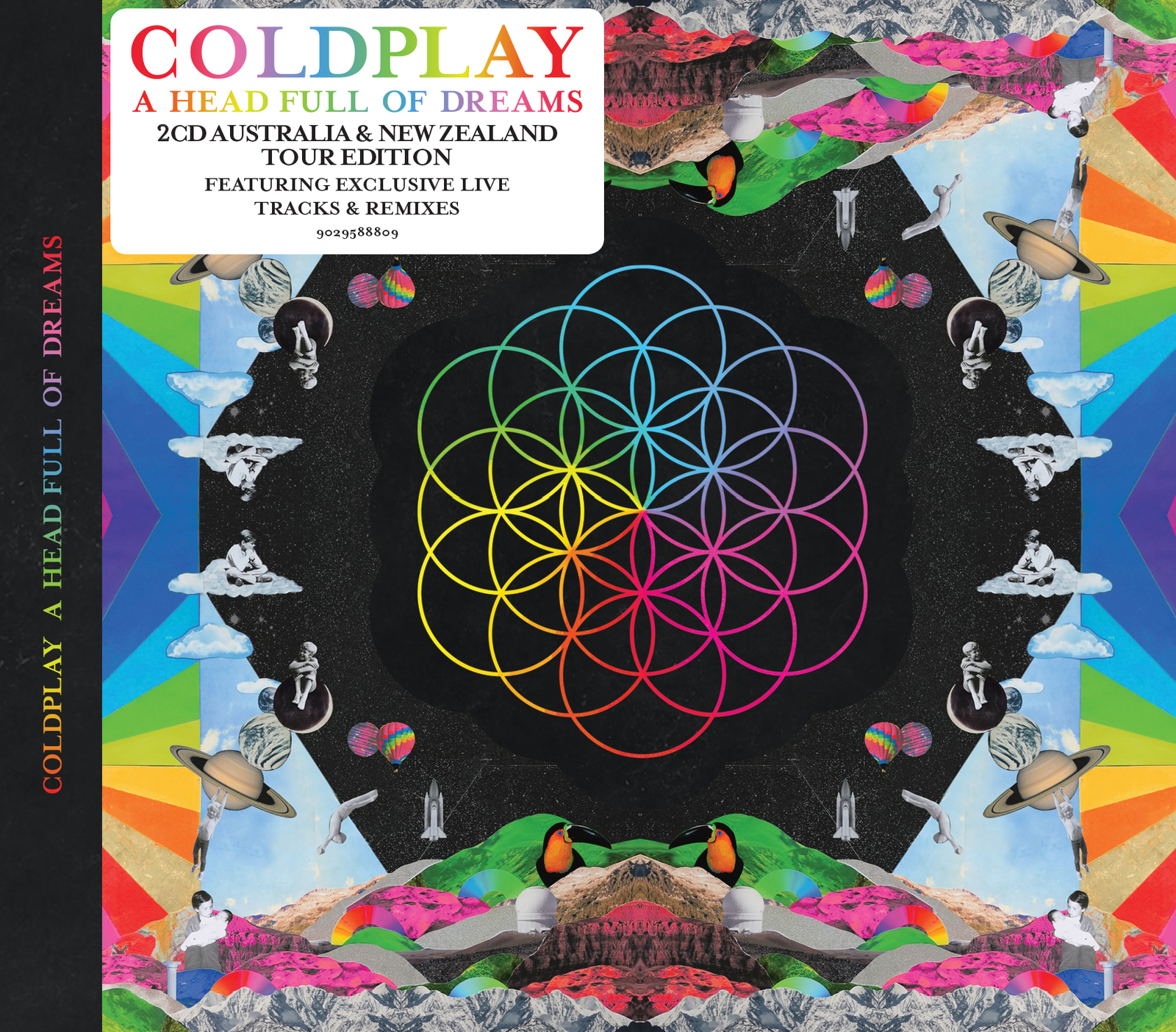 A Head Full Of Dreams - Tour Edition (2CD) by Coldplay image