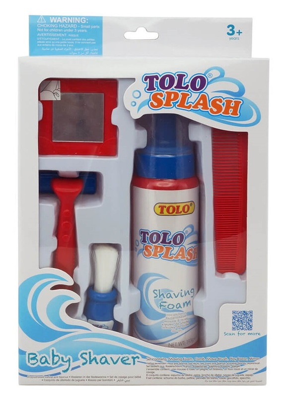 Tolo Toys: Baby Shaver - Bath Time Roleplay Set
