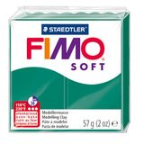 Staedtler Fimo Soft Modelling Clay Block - Emerald (56g)