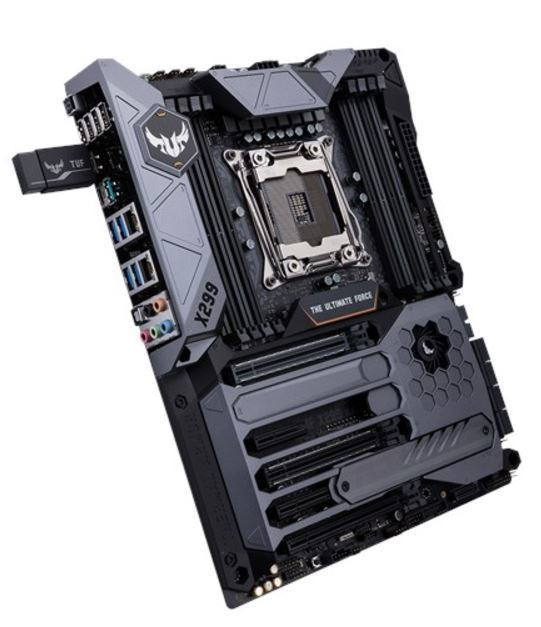 ASUS TUF X299 MARK 1 ATX Motherboard image