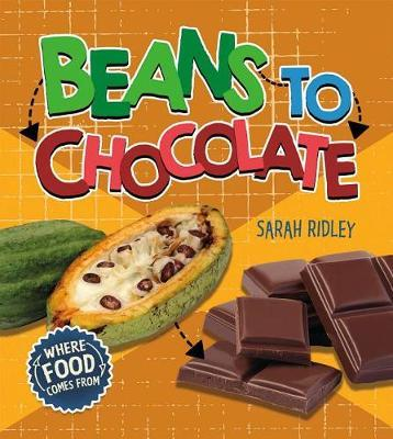 Beans to Chocolate by Sarah Ridley image