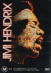 Jimi Hendrix on DVD