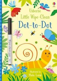 Little Wipe-Clean Dot-to-Dot by Kirsteen Robson image