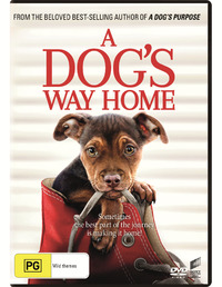 A Dog's Way Home on DVD