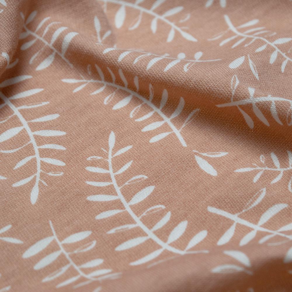 Woolbabe: 3-Seasons Front Zip Woolbabe Ember Leaves - 3-24 months image