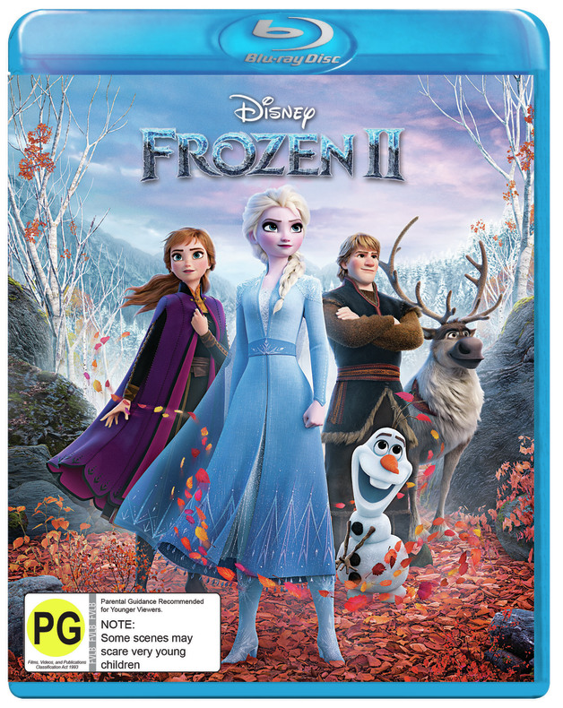Frozen II on Blu-ray