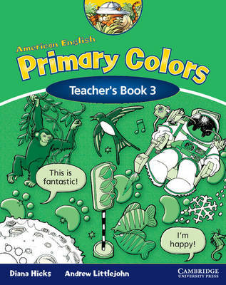 American English Primary Colors 3 Teacher's Book by Diana Hicks image