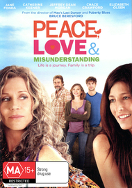Peace, Love & Misunderstanding on DVD