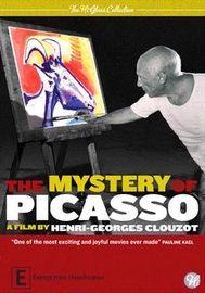 The Mystery of Picasso on DVD