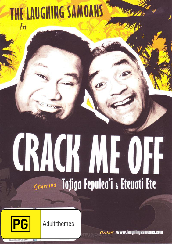 The Laughing Samoans - Crack Me Off on DVD