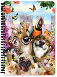 Pet Selfie A5 Lenticular Notebook