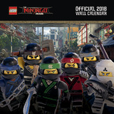 Lego Ninjago 2018 Wall Calendar