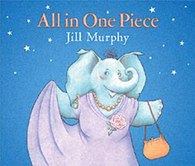 All In One Piece Board Book by Jill Murphy