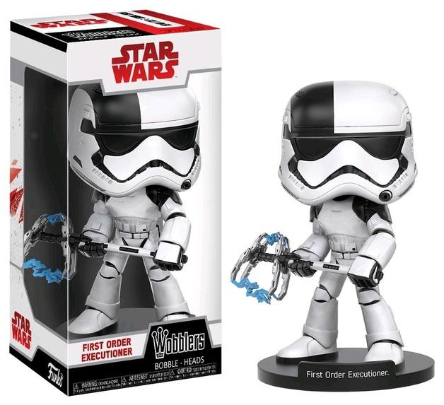 Star Wars: The Last Jedi - First Order Executioner Wobbler Vinyl Figure