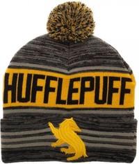 Harry Potter Hufflepuff Roll Pom Beanie