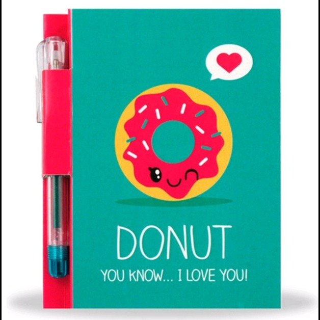 Sketch and Sniff: Scented Notebook Set - Donut