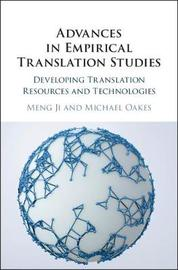 Advances in Empirical Translation Studies