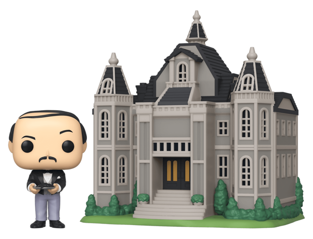 DC Comics: Alfred & Wayne Manor - Pop! Town