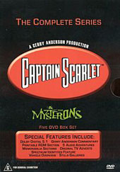 Captain Scarlet & the Mysterons Volumes 1-5 Box Set on DVD