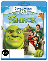 Shrek - 3D Combo on Blu-ray, 3D Blu-ray image