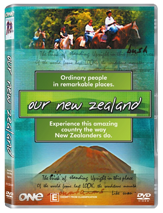 Our New Zealand on DVD