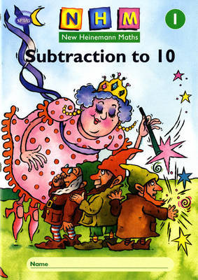 New Heinemann Maths Yr1, Subtraction to 10 Activity Book (8 Pack) image
