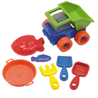Dump Truck Beach Assortment (7 Piece Set)