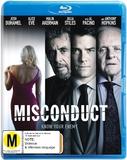 Misconduct on Blu-ray