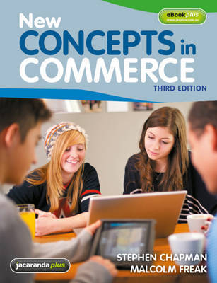 New Concepts in Commerce by Stephen J. Chapman