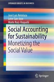 Social Accounting for Sustainability by Jose Luis Retolaza