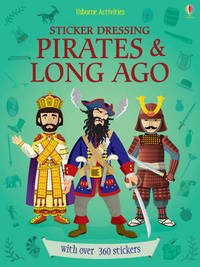 Sticker Dressing Pirates and Long Ago by Megan Cullis