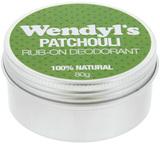 Wendyl's: Natural Patchouli Deodorant (80g)