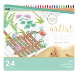Kaisercraft Artist Coloured Pencils (24pc Tin)