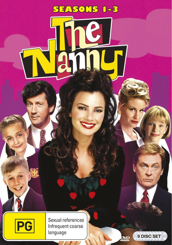 The Nanny - Seasons 1-3 on DVD image