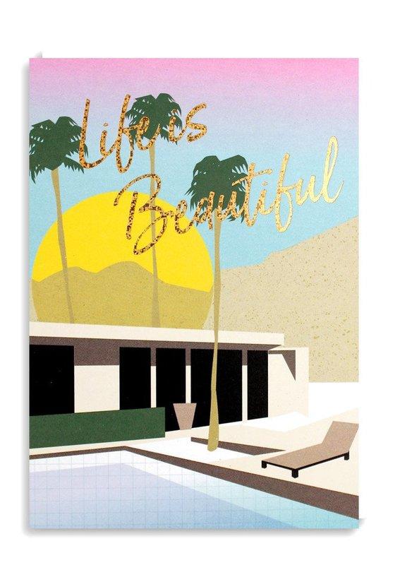Nineteen Seventy Three: Life Is Beautiful - Greeting Card