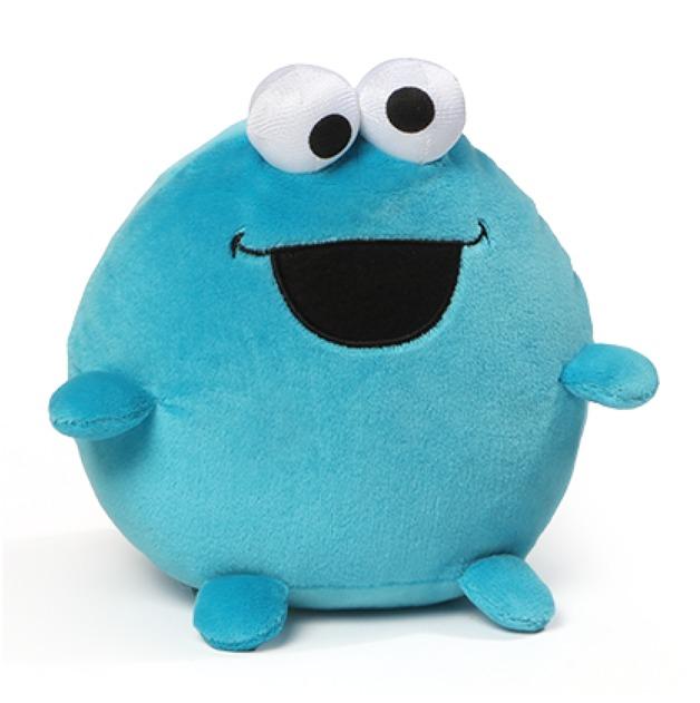 Sesame Street: Egg Friends Plush - Cookie Monster