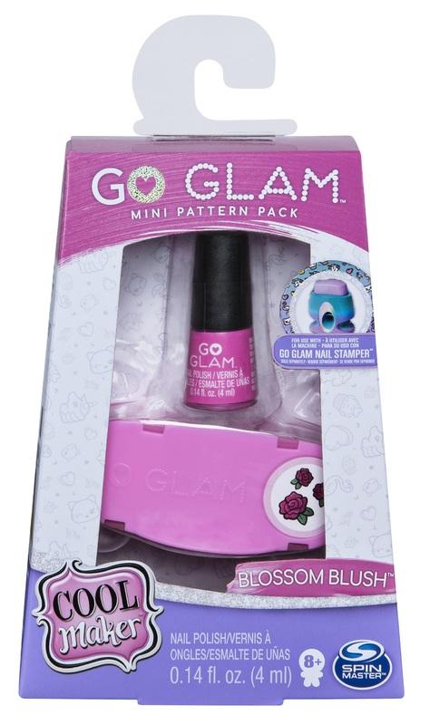 Cool Maker: Go-Glam Nails - Fashion Mini Refill (Blossom Blush)