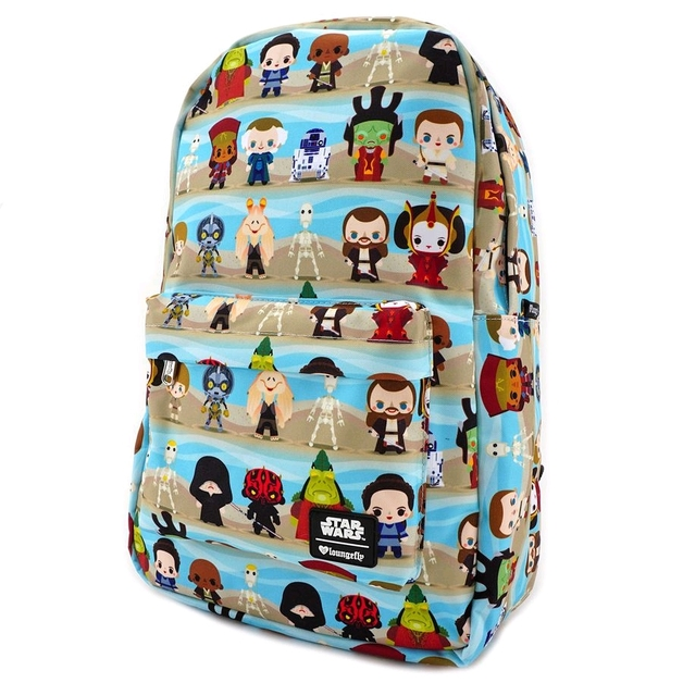 Loungefly: Star Wars - Phantom Menace Chibi Backpack