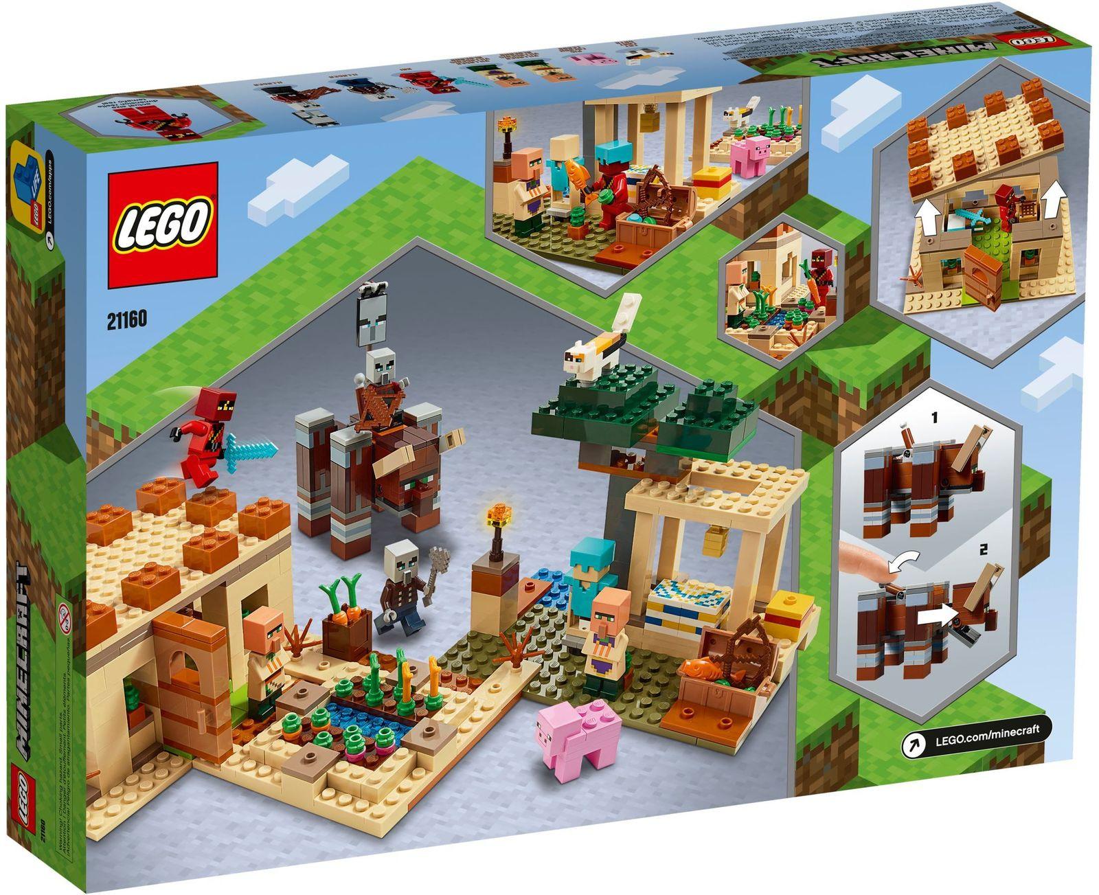 LEGO Minecraft: The Illager Raid - (21160) image