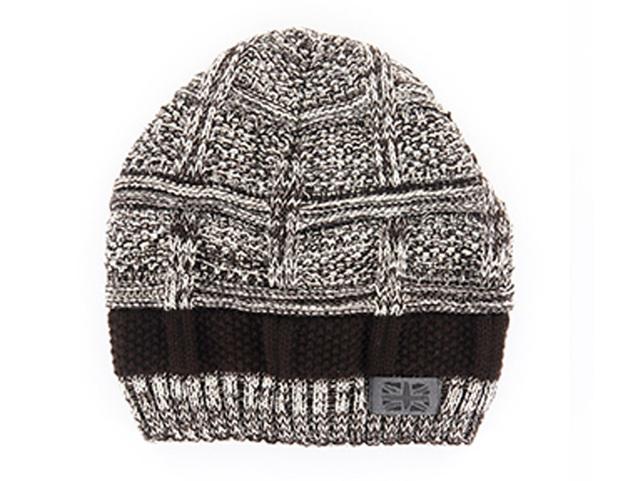 Frontier: Men's Knit Hat - Brown