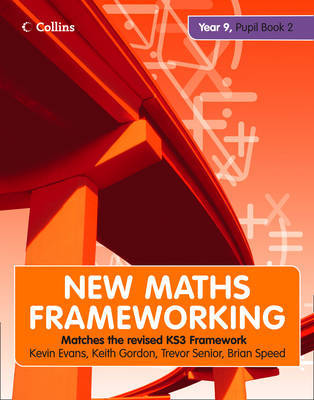 Collins New Maths Frameworking Year 9: Book 2: Pupil by Gordon Evans image