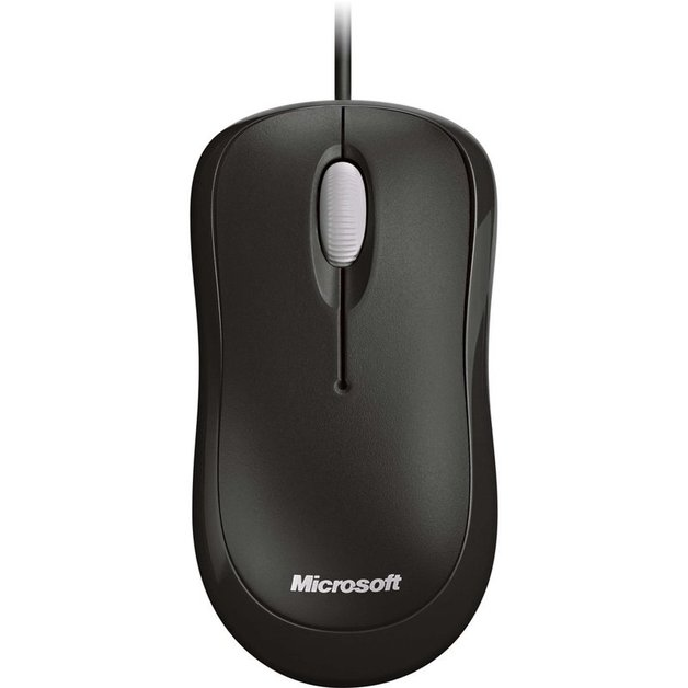 Microsoft Basic Optical Mouse USB - Black