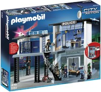 Playmobil - Police Station with Alarm System (5182)