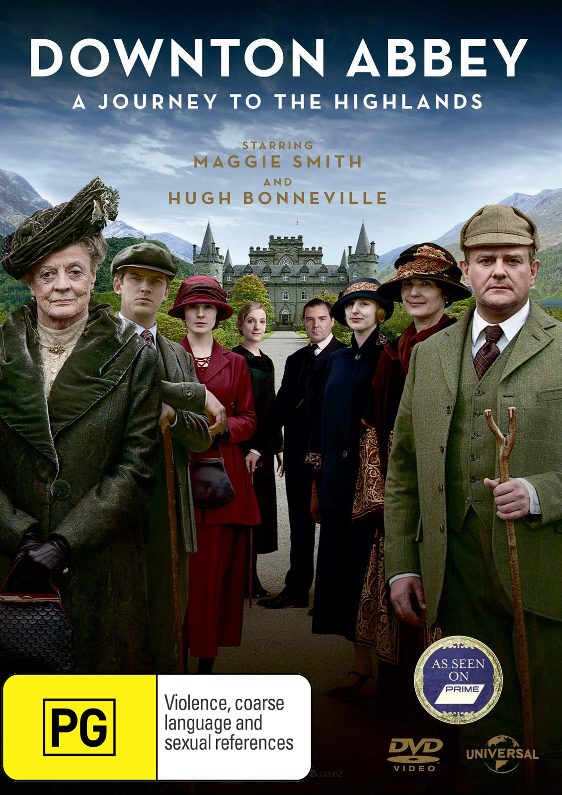 Downton Abbey: Journey to the Highlands on DVD image