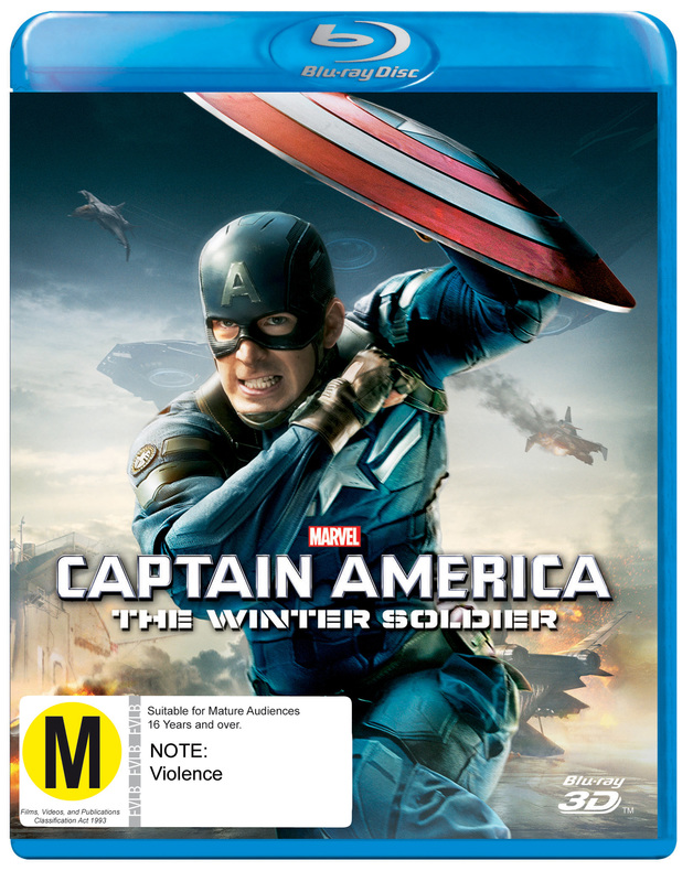Captain America: The Winter Soldier 3D on Blu-ray, 3D Blu-ray